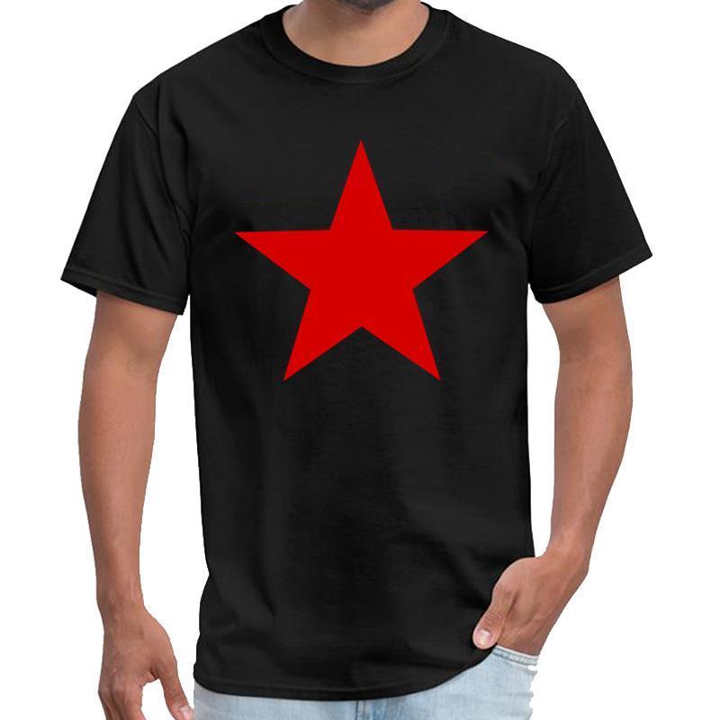 sans étoile rouge Fitness tshirt saison femme mâle 6 s-t 6xl hiphop