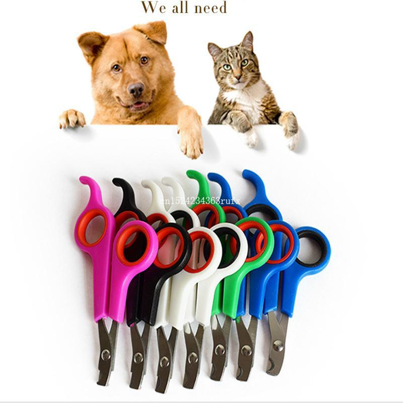 Pet Nailclippers Hunde Katzen Nägel Clippers Trimmer-Haustier-Nagel-Greifer-Grooming Schere Cutter Pet Supplies