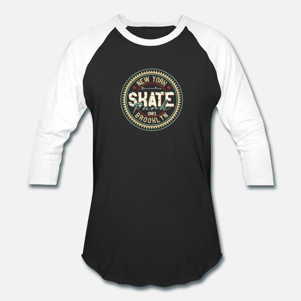 Skate Park de New York Brooklyn T hommes shirt Impression chemise taille plus tee 3XL Nouveauté été de la mode graphique shirt Outfit