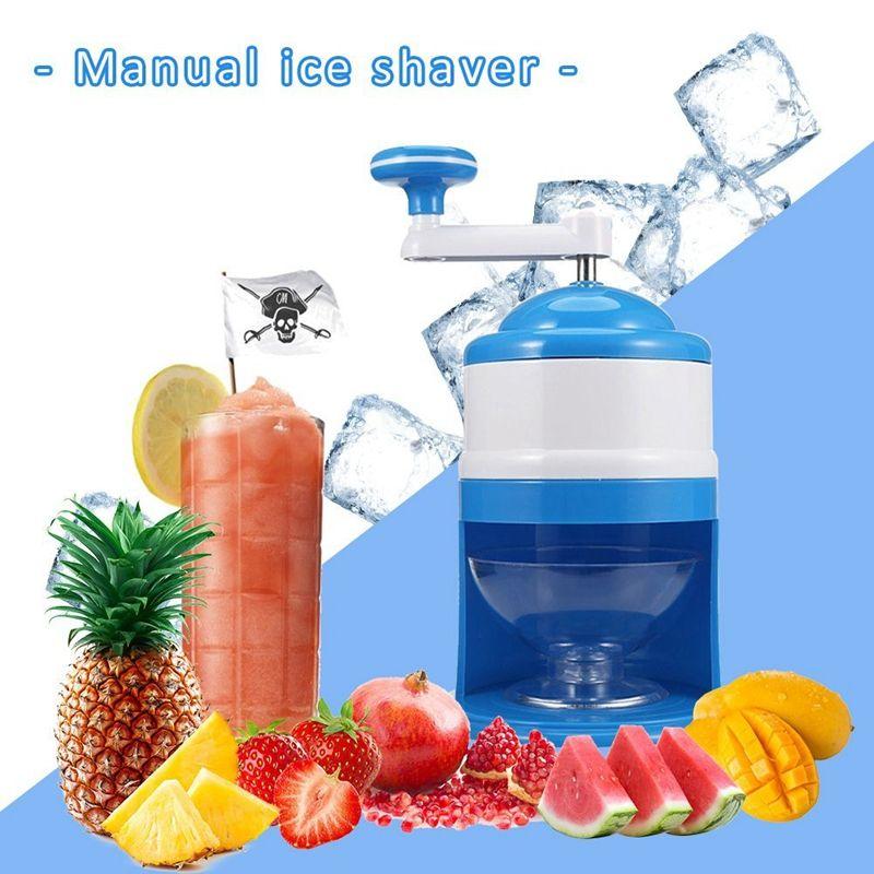 Бытовая Easy Ice Shaver дробилка Handheld снег Руководство Дробление льда