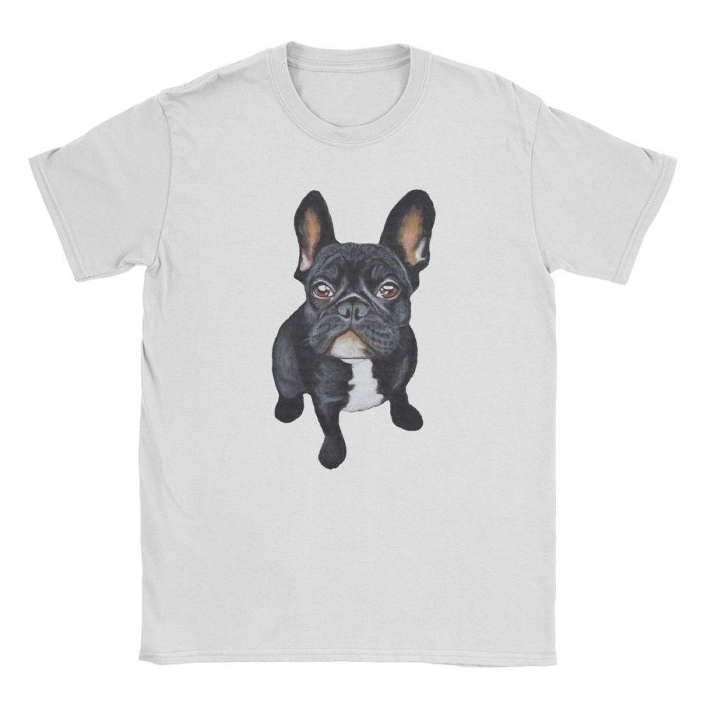 Midnite Star French Bulldog Dog Lover uomini della maglietta Hipster Tee Shirt manica corta T-shirt in cotone 100% Plus Size Tops 4XL 5XL 6XL