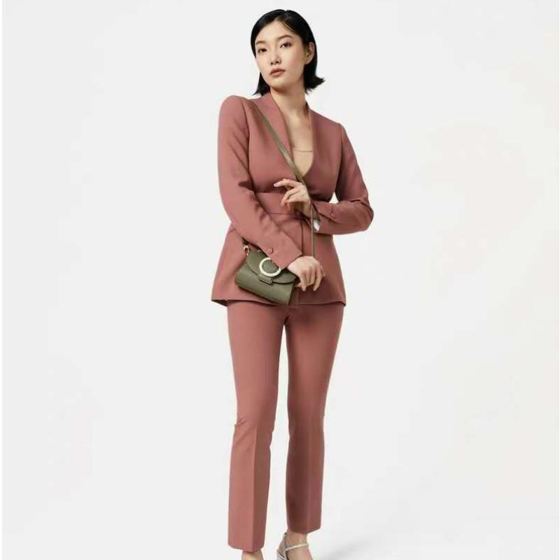 2020 nuova piccola c k moda borsa coreana borsa monospalla rotonda cinturino con fibbia di cocco portatile sacchetto di tote delle donne