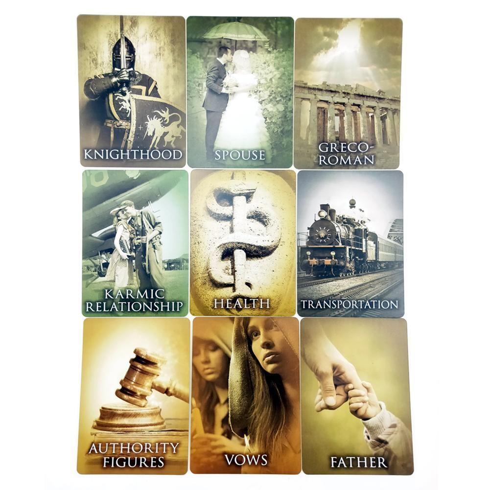 Gioco di Carte Tarocchi Carte Giochi di società Past Life Oracle Cards completa Versione Italiana miglior intrattenimento per gli amici qualità yxlKSH alta