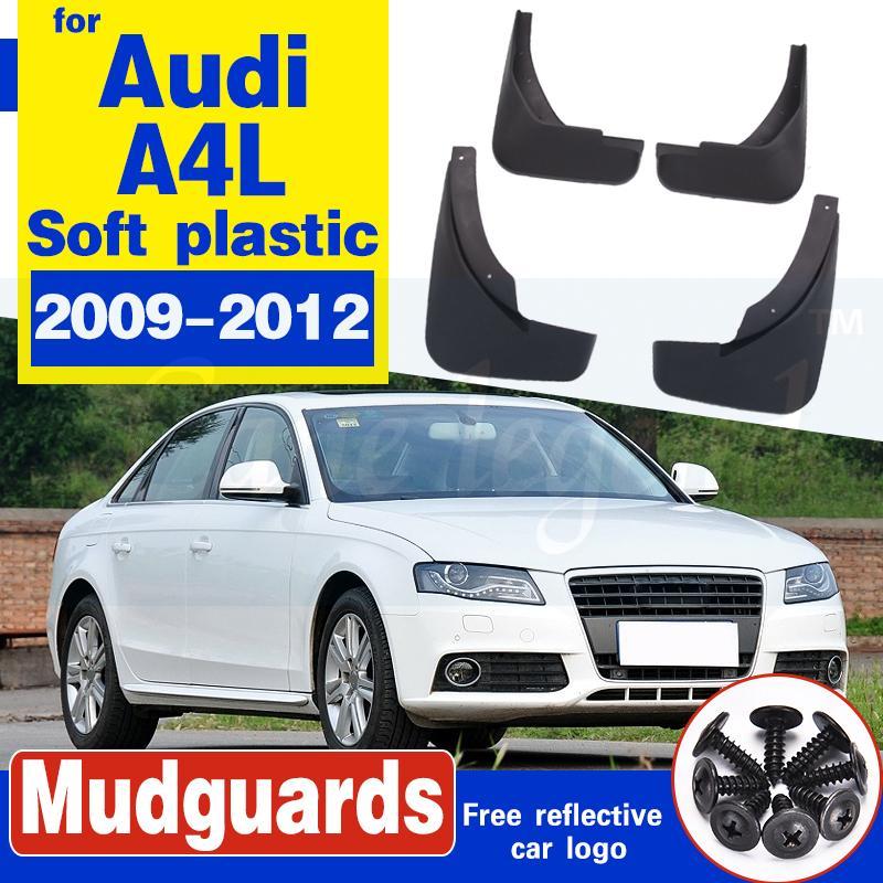 Bavette pour Audi A4 Berline Berline B8 2008 ~ 2015 Fender boue Garde Splash Rabats Garde-boue Accessoires 2009 2010 2011 2012 2013 2014