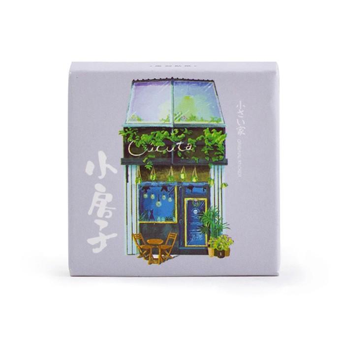 45 PC / Satz Little House Dekorative-gesetzte Tagebuch-Album-Aufkleber DIY Sticker