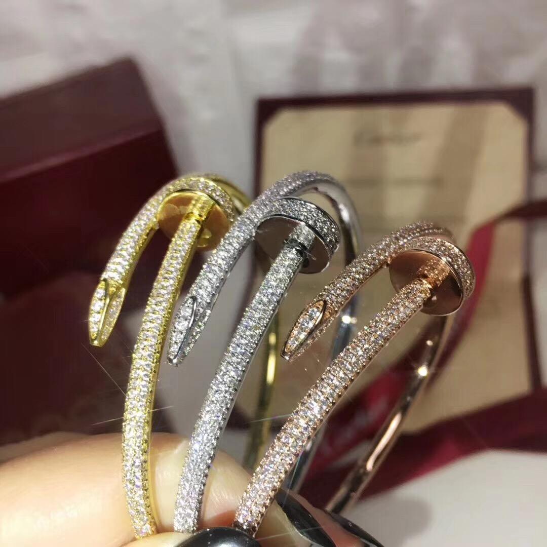 여성 팔찌 보석 선물 무료 배송 PS7223에 대한 스파클 다이아몬드와 함께 고급스러운 품질 클래식 디자인의 매력 펑크 팔찌