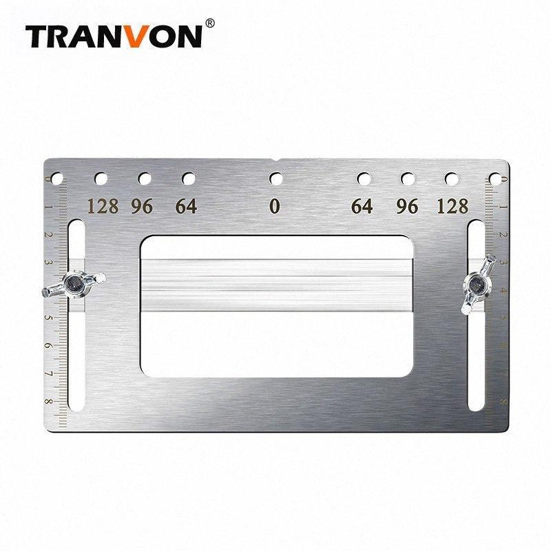 TRANVONAuxiliary ferramenta orifício maçaneta orifício de gabinete de reparação alça substituir posicionamento artefato dBc6 #