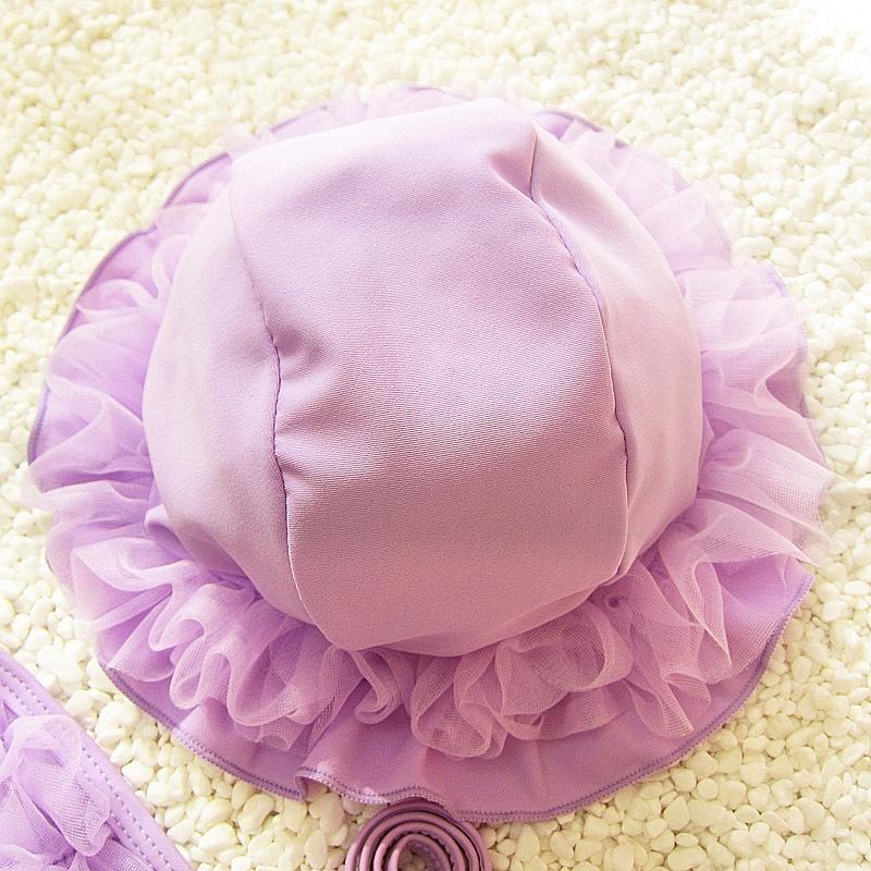 G5mZI bebê 2020 biquíni baby girl terno de três peças bonito maiô biquíni maiô saia meio estudante divisão pequena das crianças