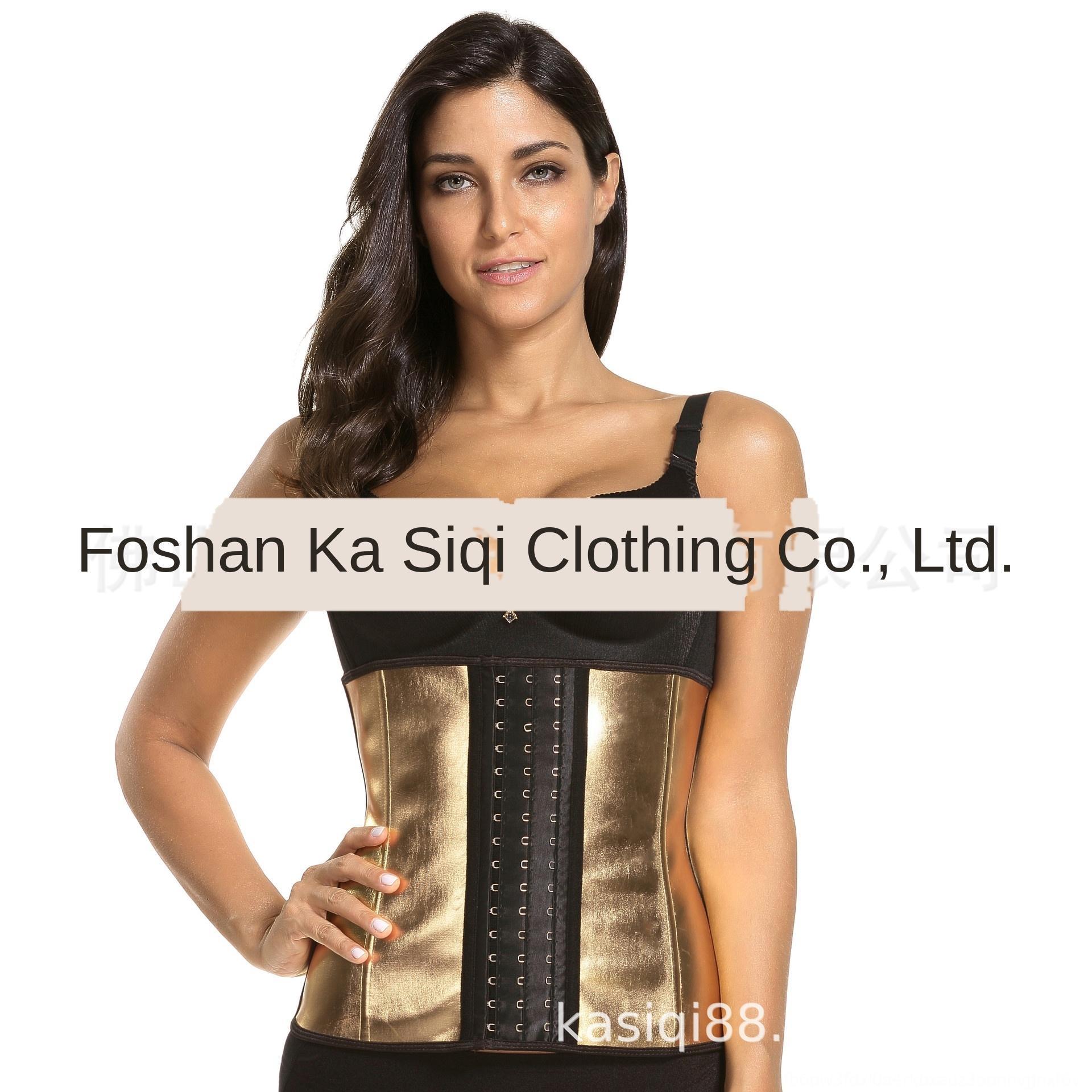 qZdIa Hot-vendendo celebridade Internet Ouro-amarrado cintura barriga fechado shaping Shapewear shapewear aptidão-amarrado cintura fina cintura látex corpo-sha