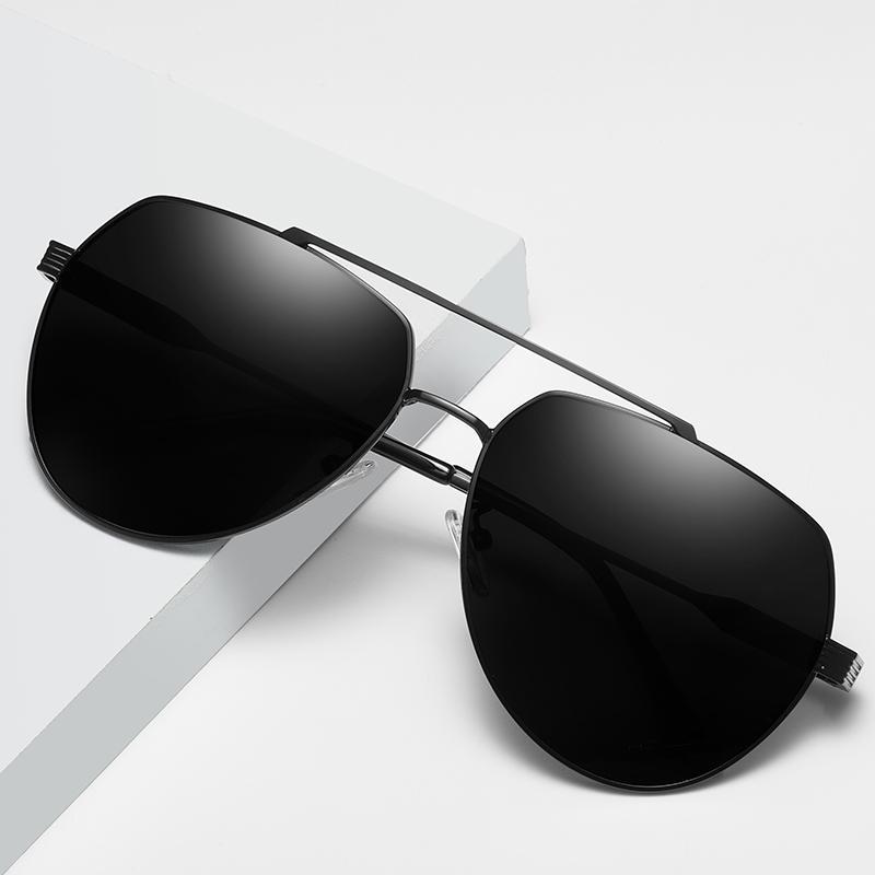 2020 Мужчины поляризованные очки Урожай классический ретро солнцезащитные очки Вождение Рыбалка Открытый UV400 Защита очки Goggle Мужской