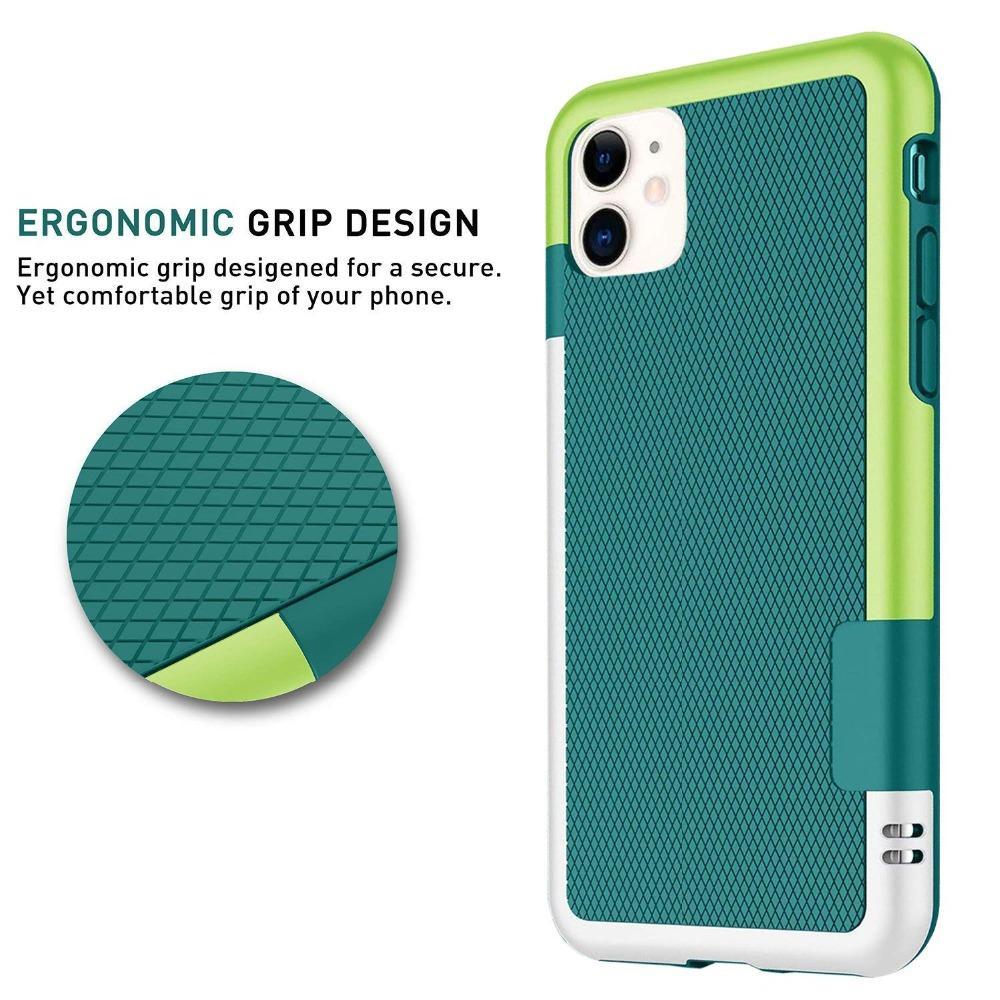 Hybrid Slim Gel caoutchouc anti-dérapant Housse de protection pour iPhone 11 Pro XS Max X XR 7 8 6 6S Plus SE 2 2020 Silicone Cover ShockProof