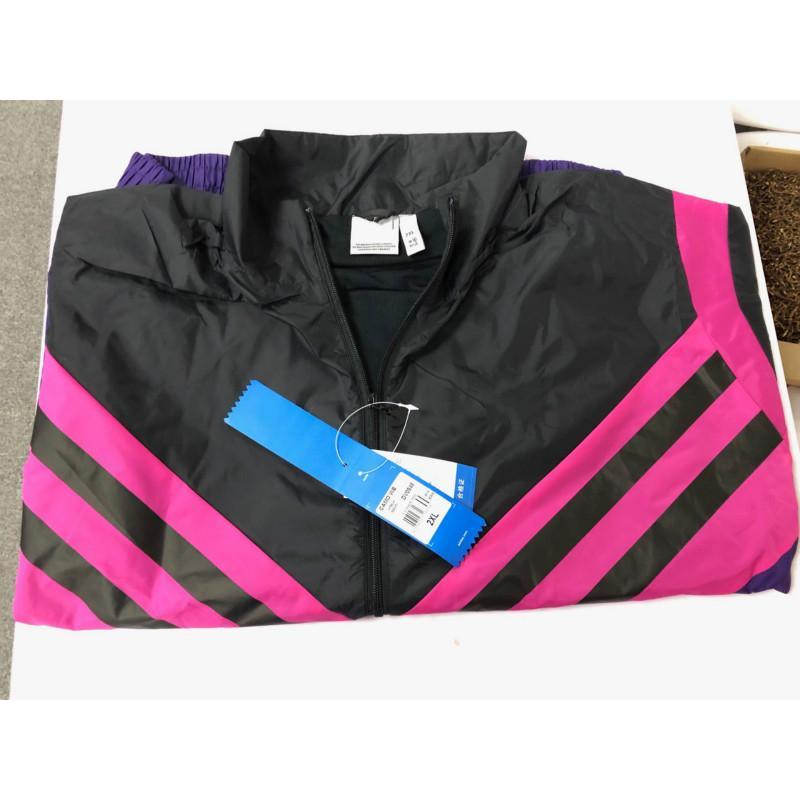 Uomini giacca designer 2020 nuovo retro della striscia di modo Sport Giacca a vento Colori corrispondano Giacche attivo Zipper Sweashirts Via Jogging Top -