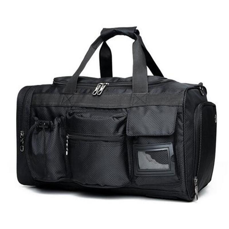 -SAC de sports de poche multifonction | Grand sac à main étanche pour hommes, fourre-tout verser de remise en forme, sacs de sport noirs
