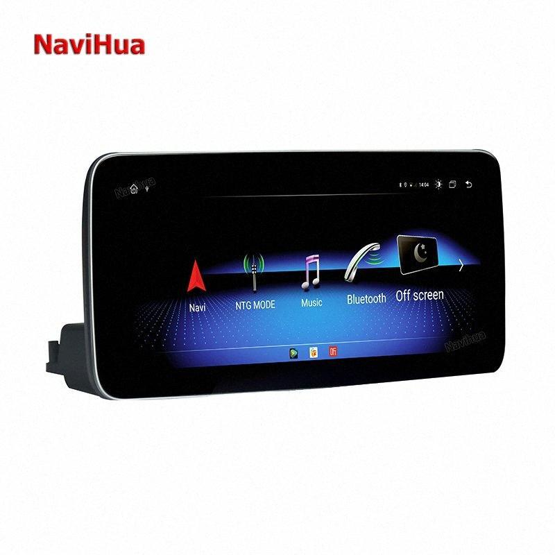 Navihua 10,25 inç Android 10.0 dokunmatik ekran 4 + 64 GB araba dvd oynatıcı C / GLC / V 2020-2020 ekzi # navigasyon radyo video sistemi gps