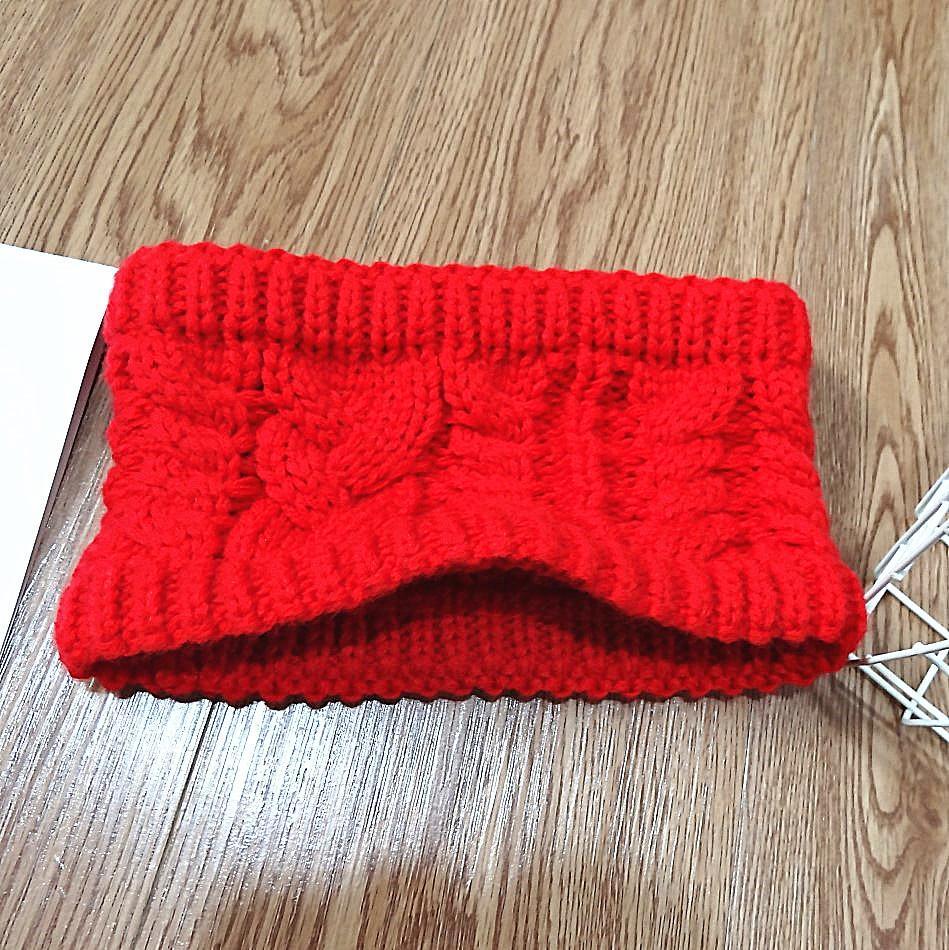 x8TLc Internet rouge mode bord cheveux laine largeur twist couleur unie huit caractères visage tricoté femmes lavage bande de cheveux de laine serre-tête
