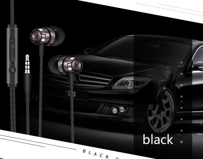 Vier-Farben optional Hochwertige In-Ear-Kopfhörer S6 S7 Rand Galaxy-Headset mit Mikrofon Lautstärkeregler Geeignet für Iphone 5 6s