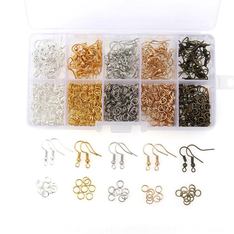 RAvei chaud crochet vente unique oreille oreilles anneau de bricolage boucles Accessoires Diy accessoires faits à la main sac matériel de set