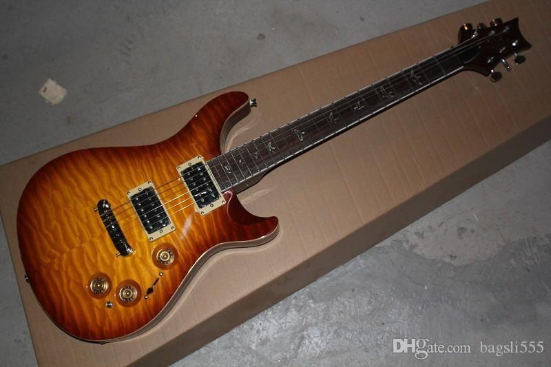 Frete grátis Melhor Preço - New Arrival Ave Fretboard 22 traste guitarra elétrica do ouro Hardware Em armazém