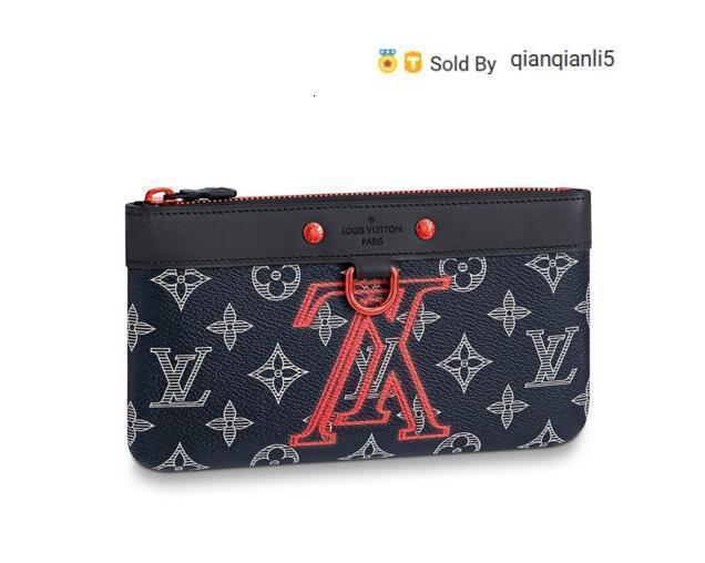 qianqianli5 5U0X PM M62898 Men Belt Bags EXOTIC LEATHER BAGS ICONIC BAGS CLUTCHES Portfolio WALLETS PURSE