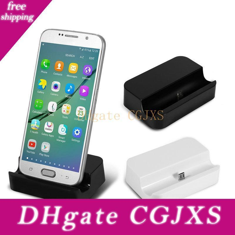 Micro Usb Charger Docking Station Cradle Sync Dock For Samsung Galaxy S6 S5 S4