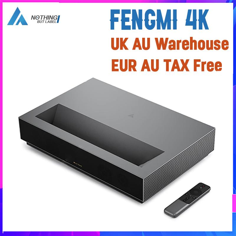 Fengmi 4K Cinema Laser Projector 2000 ANSI Lumen Bluetooth HDR10 Home Theater Beamer Video Inglese Interfaccia EUR FRESSE