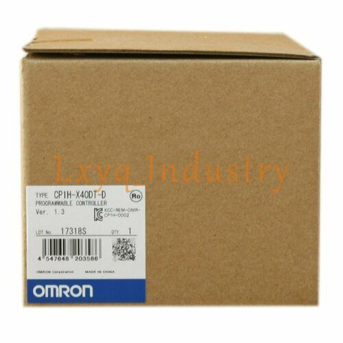 Omron PLC CP1H-X40DT-D Programmable Controller Brand New Quality Assurance