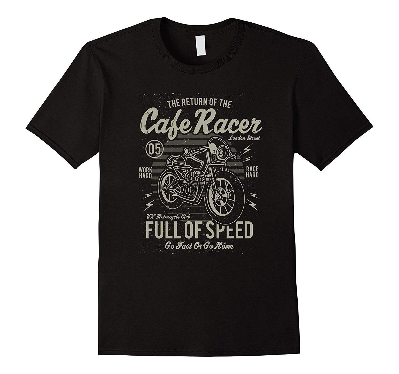 Moda Uomo Motorcycle Club Camicia Casual T-Shirts Uomo O collo della maglietta
