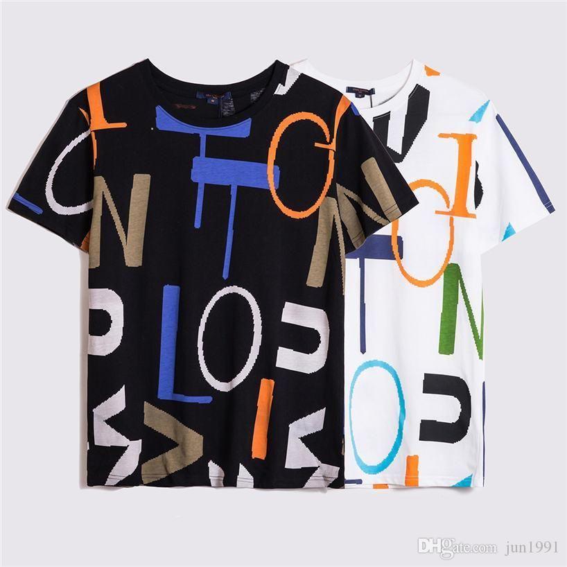 565Fashion camisetas Casual Camiseta Homens Streetwear camisetas para t-shirt Mens Tees Mens Mulheres Manga Curta T-shirts