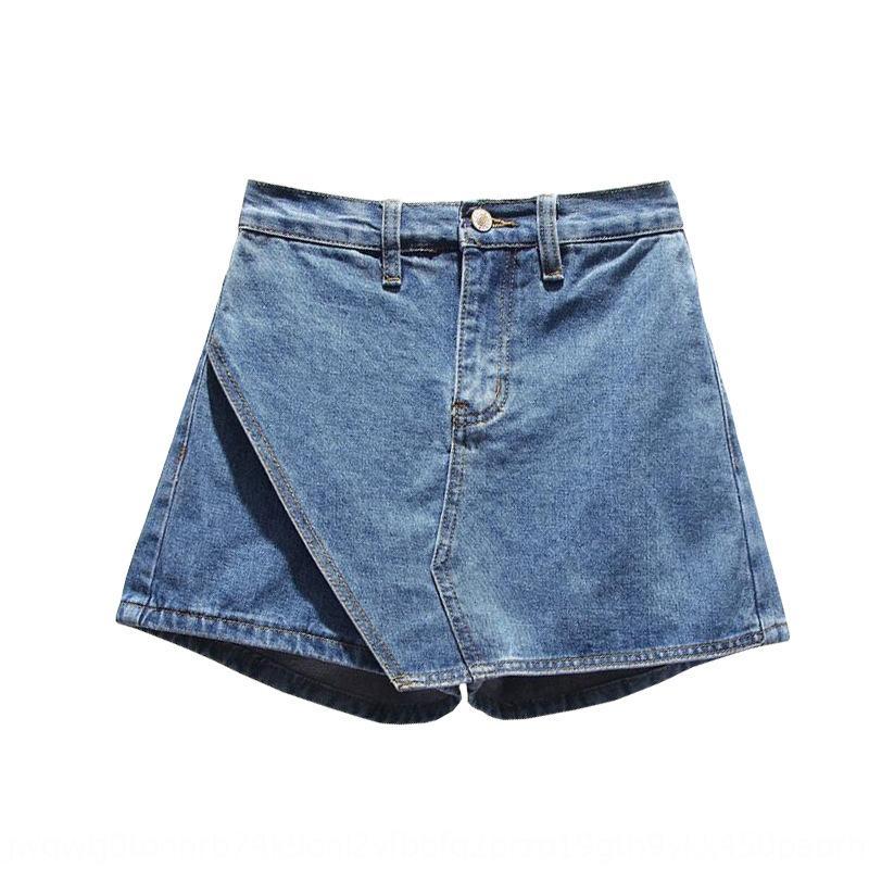 Y7Q2e soeur Fat été taille nouveau pantalon large denim mm femmes de graisse 2020 minceur cachette de viande chaude jambe large et pantalons chauds short short