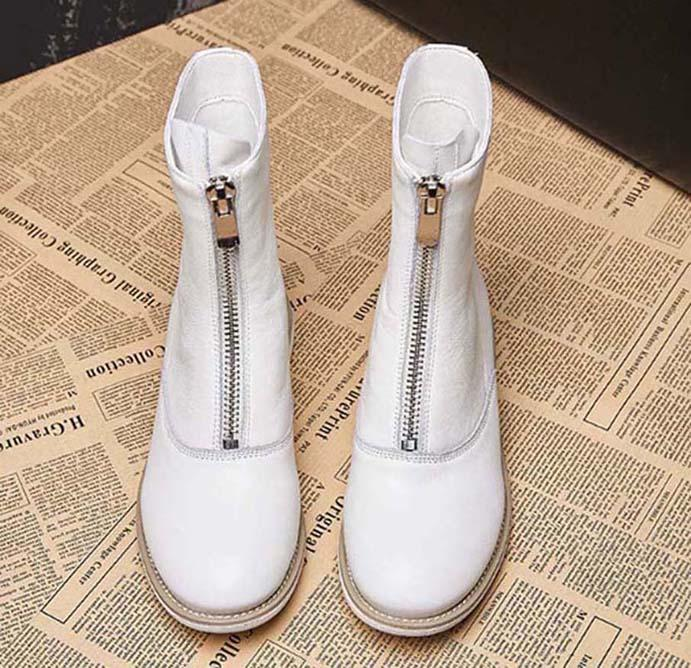 scarpe da donna in pelle donna stella in pelle di moda breve autunno P91 donne di modo della caviglia inverno stivali SH008