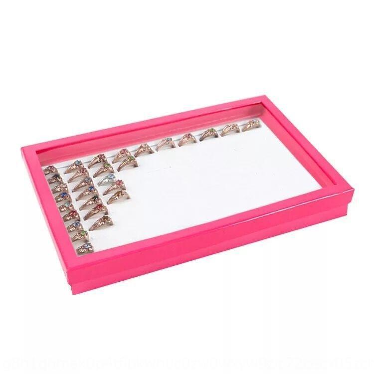 scatola d'argento nero bianco anello anello visualizzare Top-grade squisita 100-bit di visualizzazione 100-bit orecchio Nail NJjE8