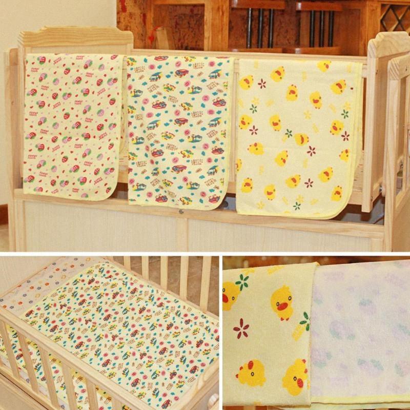 Bebê infantil lavável fralda Fralda Urina Mat Kid cama Waterproof Alterar Pads Covers H3I2 #
