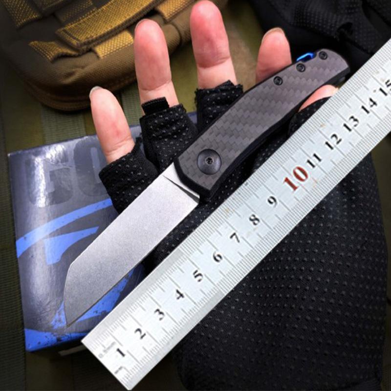 NEW ZT Zero Tolerance zt0230 0230 d2 blade carbon fiber Folding hunting camping knife xmas gift knife knive