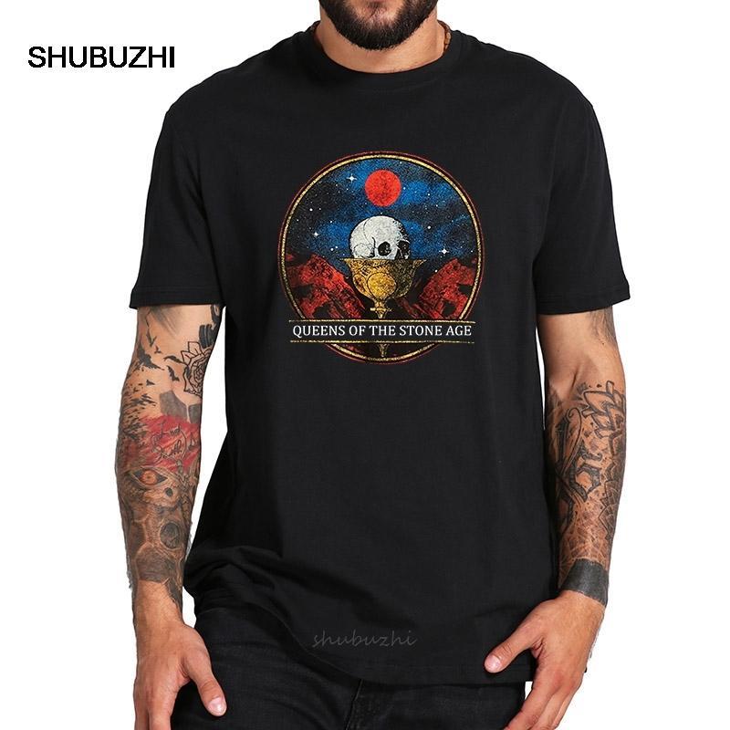 Eu tamanho 100% Algodão T Shirt Rock Band Chalice camiseta de manga curta de alta qualidade Tops Tee