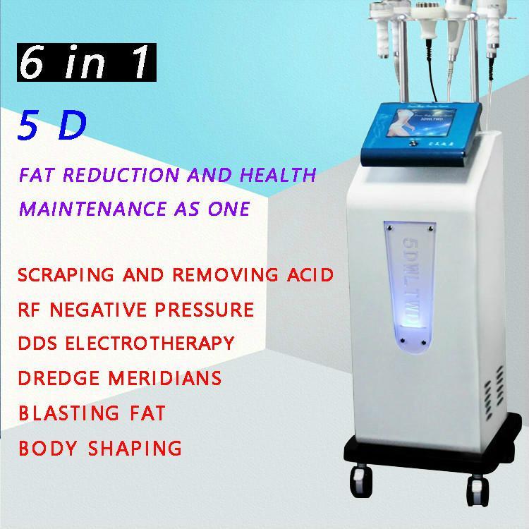1 40k Ultrason Vücut Zayıflama Vakum Kavitasyon Rf 5D Fonksiyonlu 6