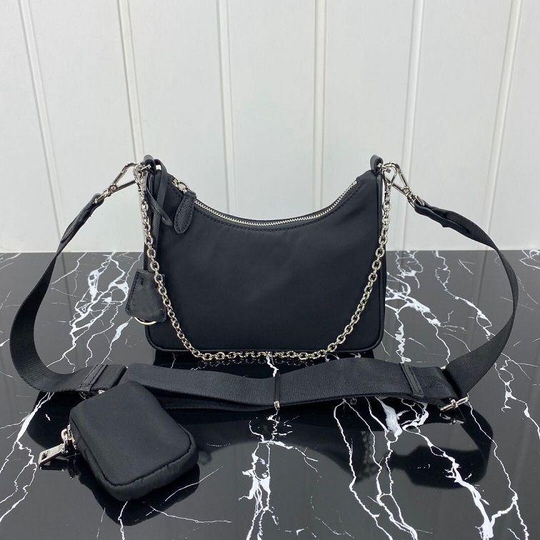 Luxurys Leinwand Handtaschen Designer Pack Frauen Umhängetasche Hobo Brust Geldbörse Frauen Tote Ketten Messenger Handtaschen Lady Bags Bag Presbyopi JQBB