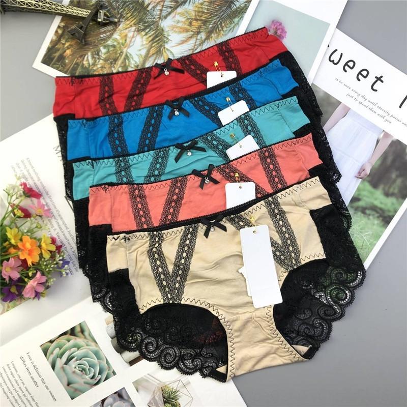 Alta calidad grandes breifs sin ropa interior de las mujeres modales del algodón de cintura alta oferta especial de ropa interior femenina