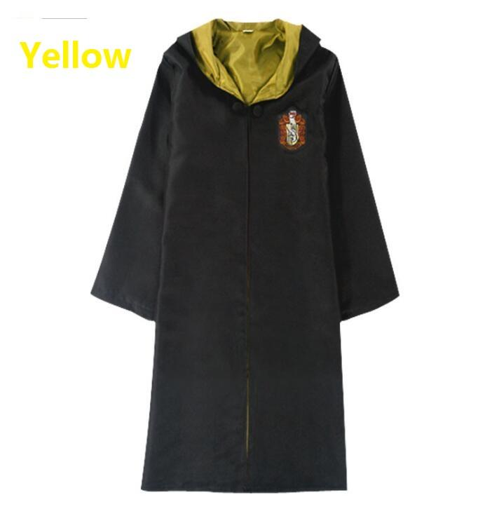 Halloween Kids Cosplay Costume Caplos Harries Potte Magic Robe Capa para Boy Girl Slytherin Ravenclaw Cape Ropa Prop