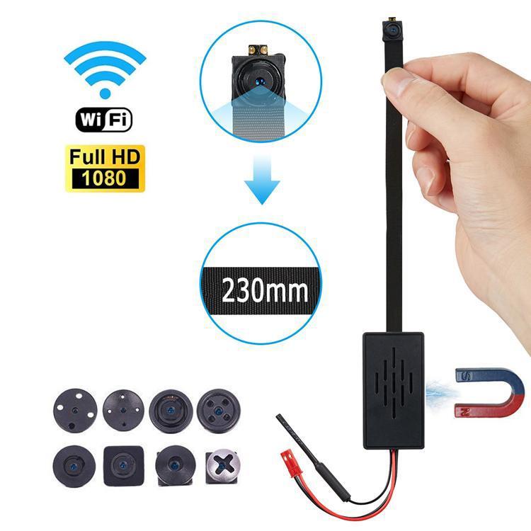 HD 1080P DIY Portable WiFi IP Mini Camera P2P Wireless Micro webcam Video Recorder Support Remote View Camcorder Home Monitoring Cams