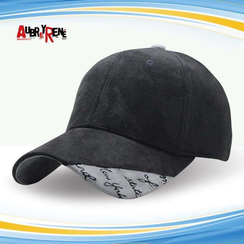 Chapeau printemps et en été nouveau style coréen courbe hip hop baseball Pointu daim casquette de baseball brodé mode personnalisé casquette de l'avant-toit