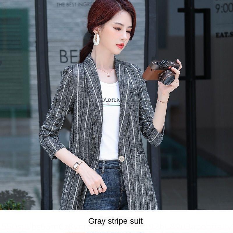 Y58gY 2020 autunno e l'inverno cappotto nuovo stile coreano slim fit piccolo vestito del cappotto di usura personale dimagrimento delle donne tuta professionale delle donne