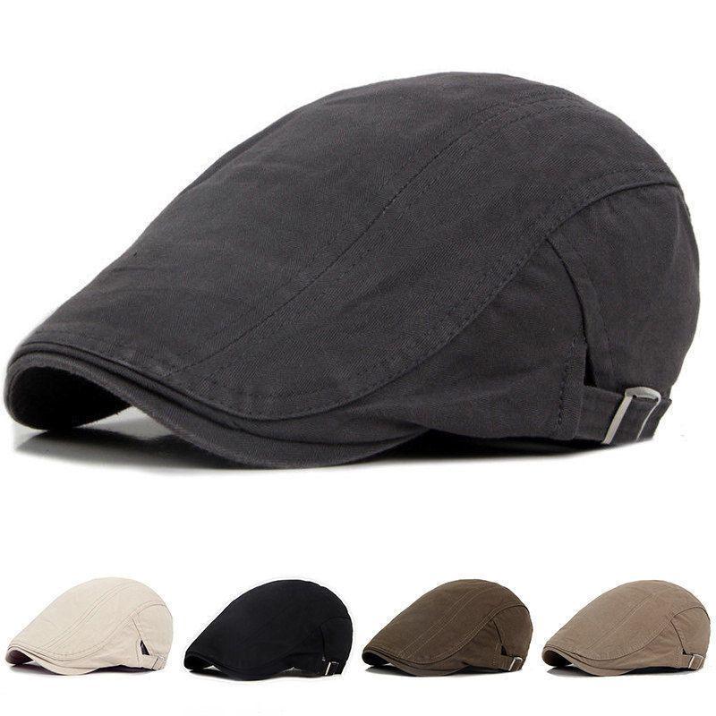 Ayarlanabilir Bereliler Açık Güneş Nefes Kemik Brim Şapkalar Kadın Erkek Balıksırtı Katı Düz Bereliler Cap Hat Caps