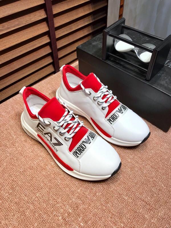 2021T Luxe Mode Hommes '; S Chaussures bas -Top dentelle -Jusqu'à Broderie Daily Chaussures de sport, Haute -Qualité Casual Chaussures de plein air sauvage, Taille: 38 -