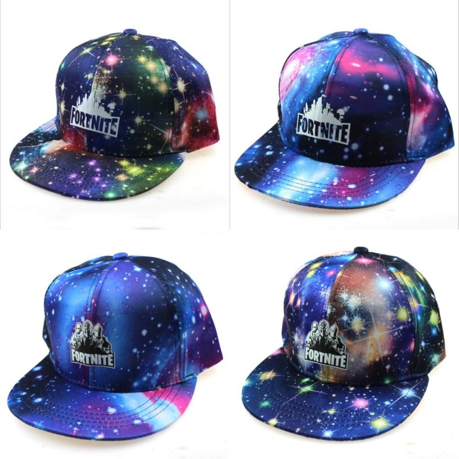 2020 Milhares Moda Últimos Reis Snapback Fortnite Hat pular de volta Fortnite Hats For Men Basketball Impresso Cap Casquette óssea Fortnite Ha # 397