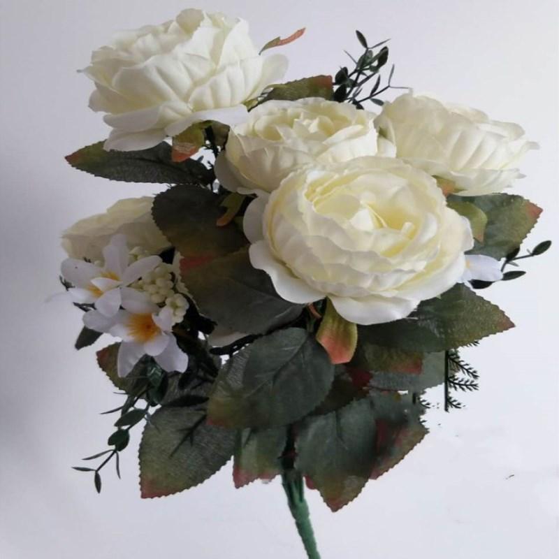 Бесплатная доставка Handmade европейский стиль пион букет для украшения венчания Холдинг цветок Главная Четырехкомнатная Орнамент Supplies