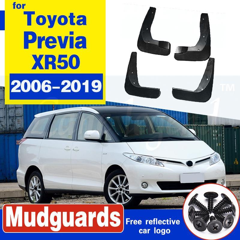 Auto-Schmutzfänger für Toyota Previa XR50 2006 ~ 2019 Estima Tarago Fender Mud Schutzklappe Splash Flaps Radschützer Zubehör 2010 2015