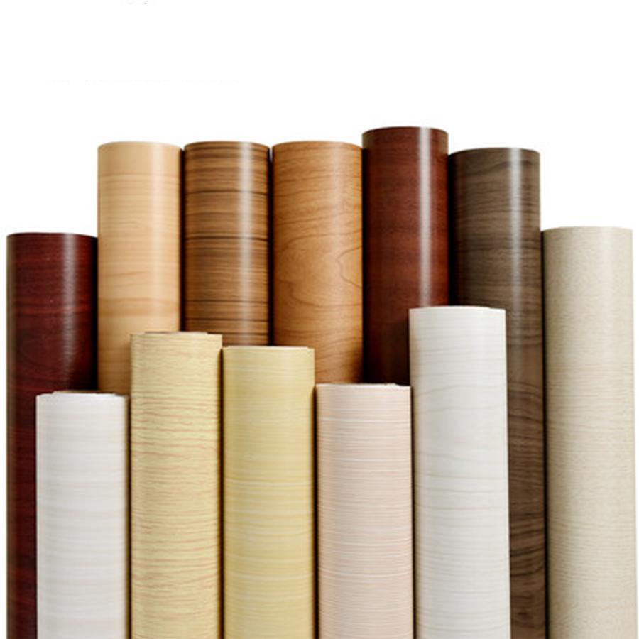 PVC auto-adhésif étanche Peel et bâton Fond d'huile, amovible contact papier Décoration d'intérieur Salon Chambre Chambre d'enfants