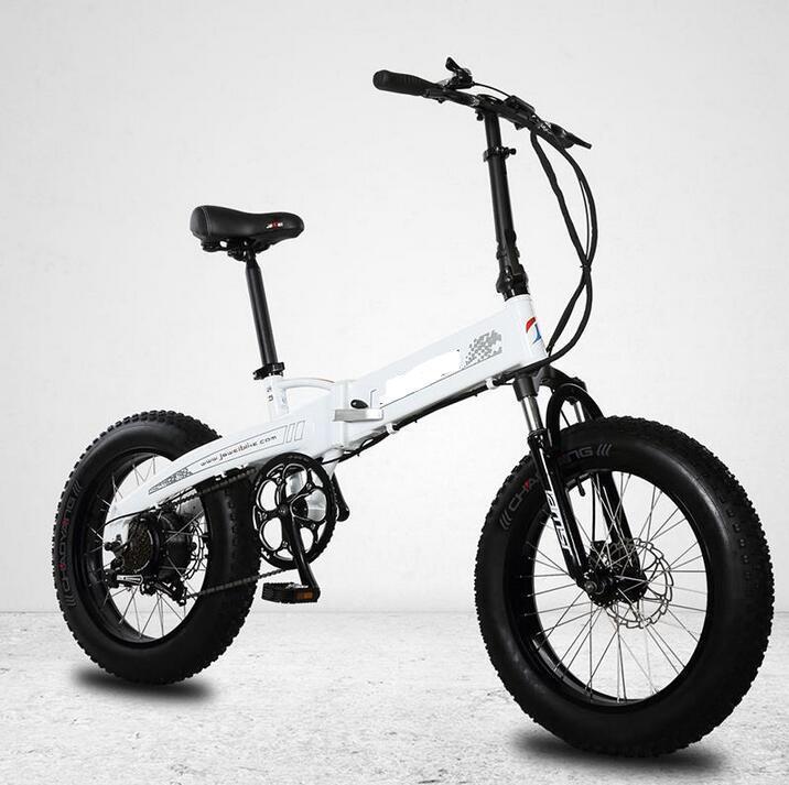 Vente en gros 20 pouces électrique pliant graisse vélo 36v 48v vélo graisse électrique 20 pouces pliant ebike