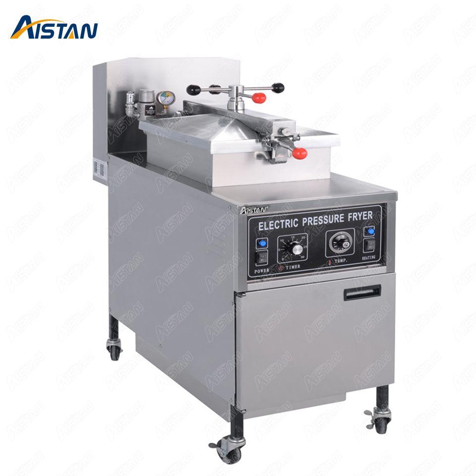 MDXZ25 elektrische / gasgewerbe Hähnchen-Druckfräsen mit ganzen Edelstahl (manuelle Panel-Version)