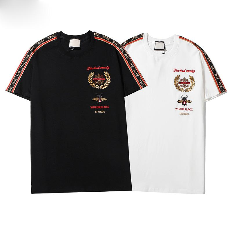 stelle stampati gli uomini della T-shirt degli uomini di modo nuovo di alta qualità a maniche corte Bathing Ape cotone di alta qualità T-shirt maglietta di formato M-3XL
